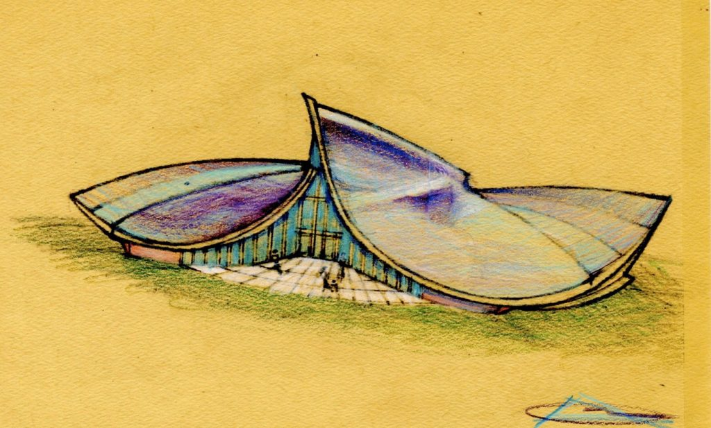 10. Wave Form Chapel