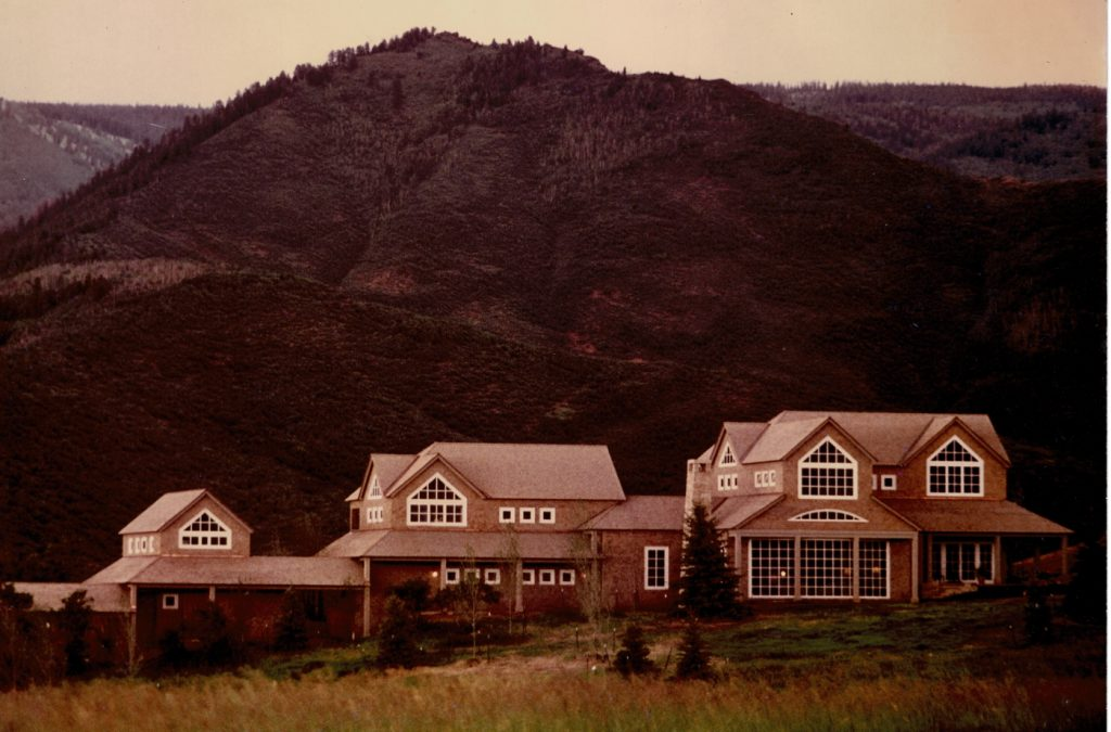 Aspen ridge house