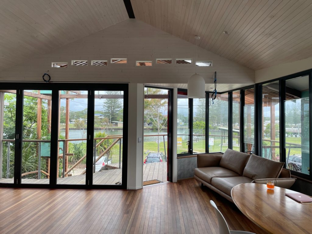 river house interiors