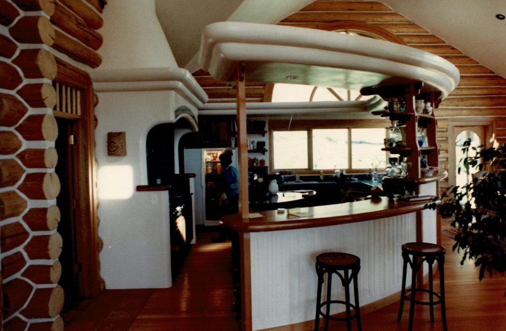 Log kitchen